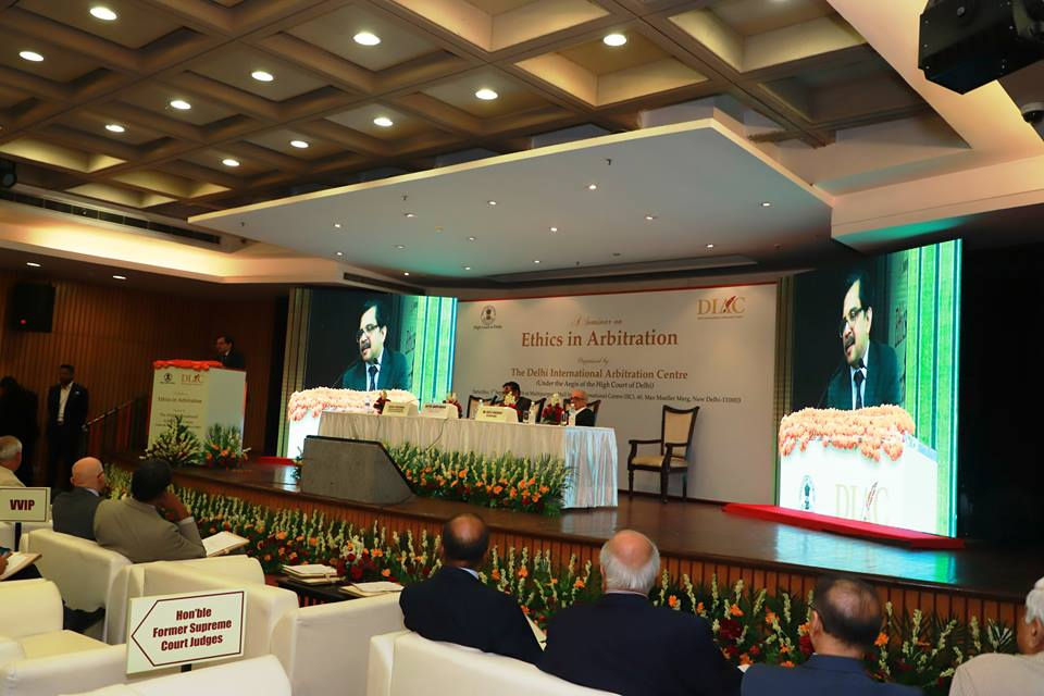 Seminar on Ethics in Arbitration, held by DIAC