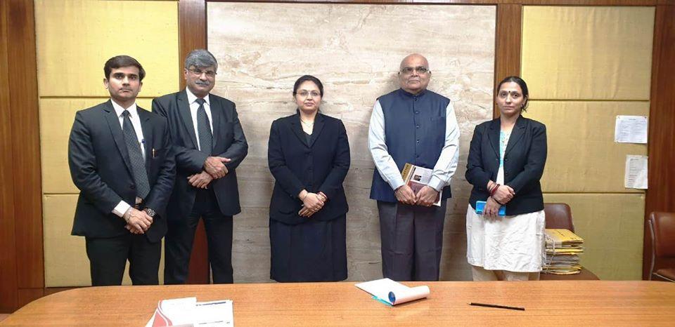 Visit of Hon'ble Justice Rashmin Chhaya Gujrat High Court to DIAC