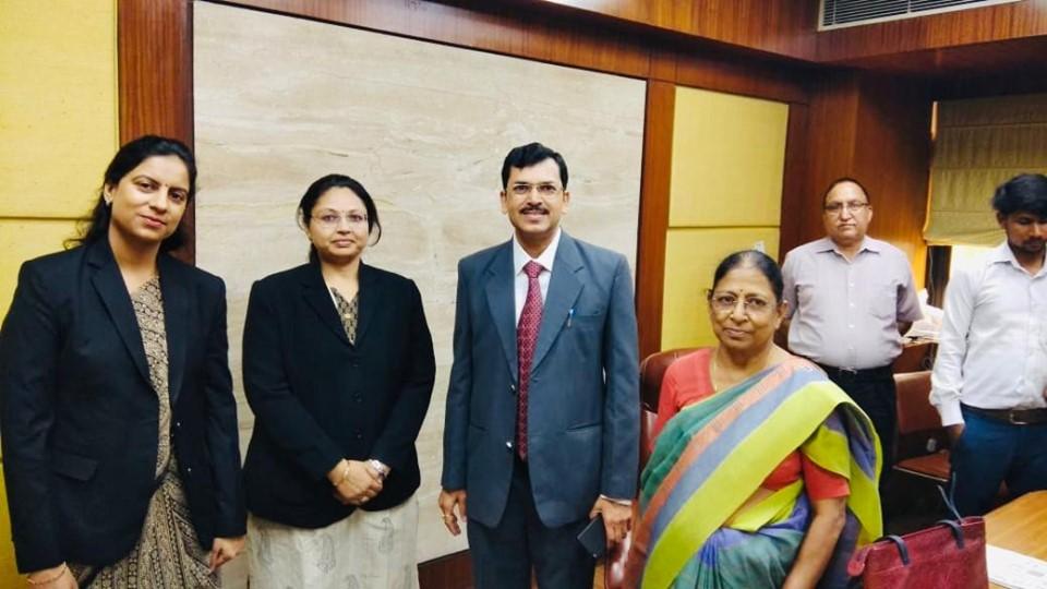 Visit to DIAC by Sh. Onkar Nath Ld. Registrar of Madhya Pradesh High Court