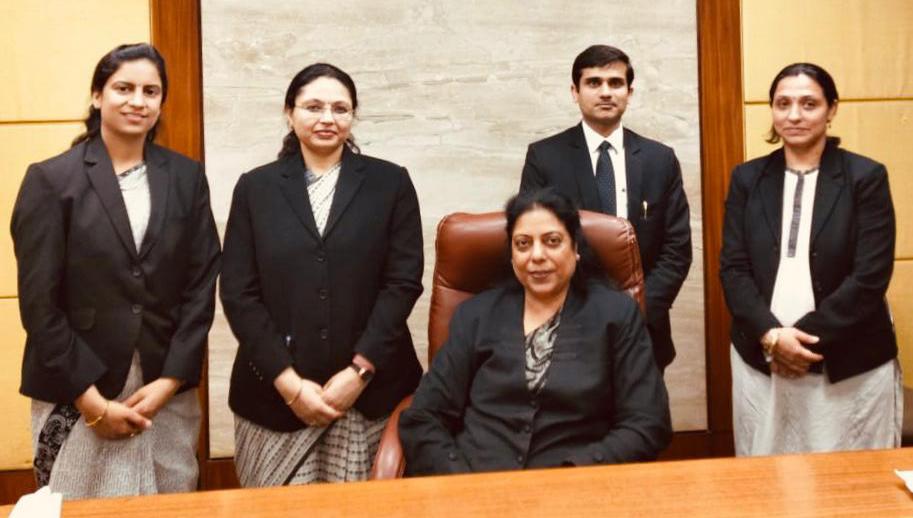 Visit of Hon'ble Ms. Justice Mukta Gupta Madam to DIAC