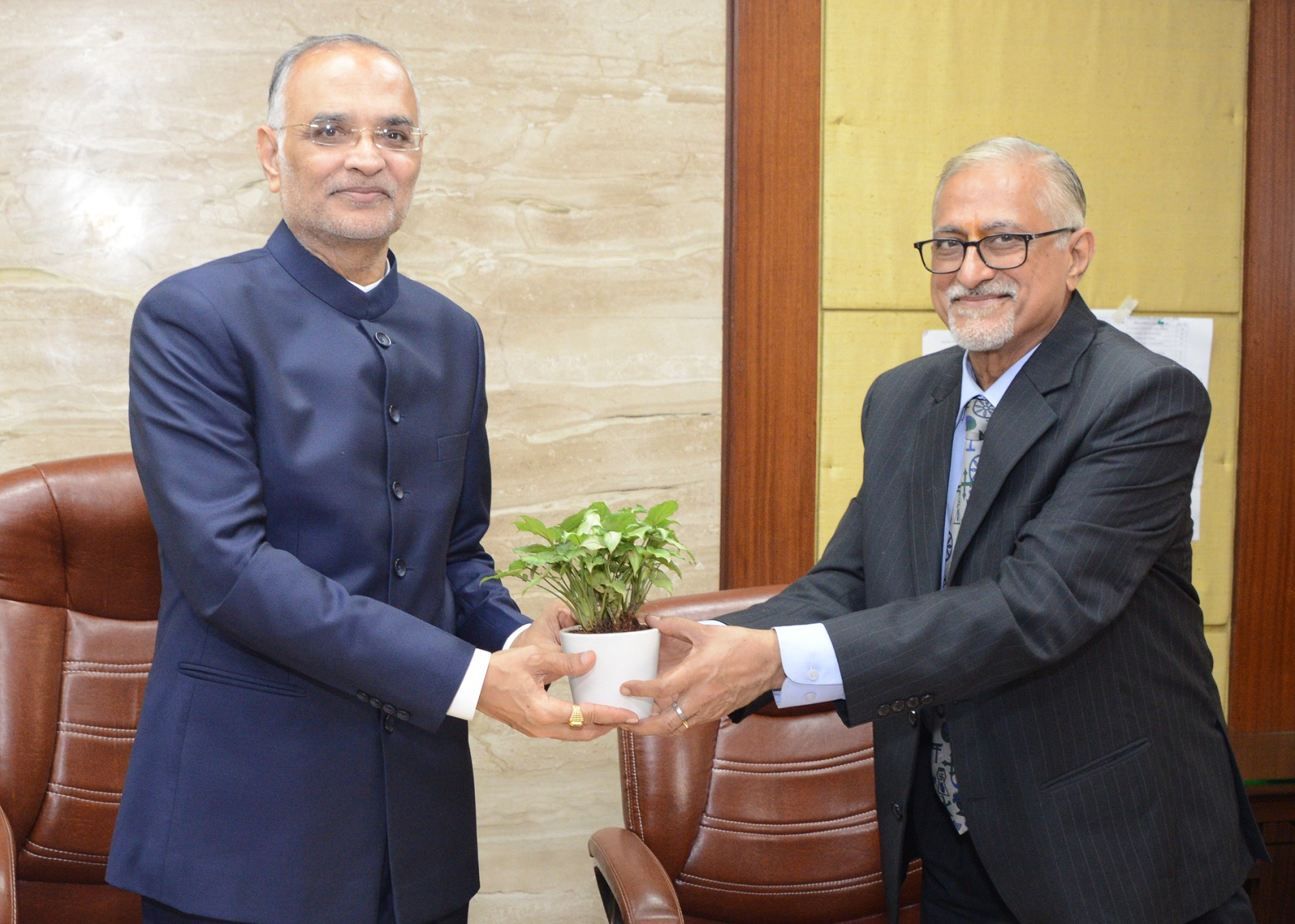Visit of Hon'ble Chief Justice of Delhi High Court